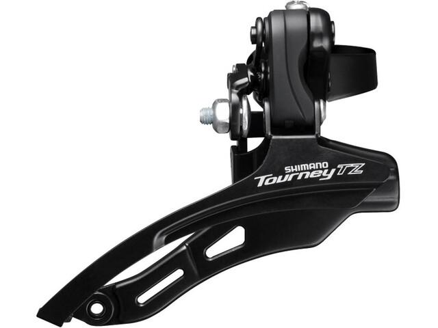 Shimano Tourney TZ FD-TZ500 - Dérailleur avant - 3x6/7 vitesses Down Swing collier haut noir